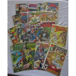 EARLY 90s MARVEL & DC COMIC LOT ( 17 )