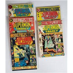 5-DC SUPERMAN FAMILY COMICS 60c ISSUES