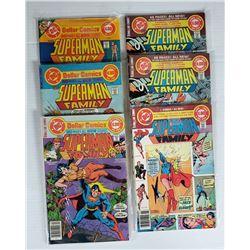 6-DC SUPERMAN FAMIL COMICS $1 ISSUES