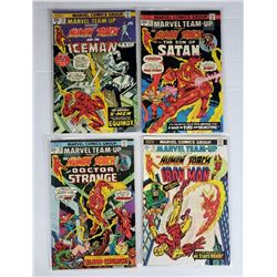 4-MARVEL HUMAN TORCH COMIC BOOKS