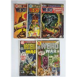 DC COMIC WEIRD WAR #5,#7; WEIRD WESTERN