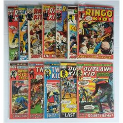 MARVEL COMIC LOT: THE RINGO KID #15, THE OUTLAW