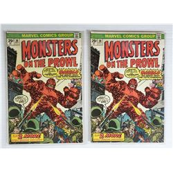 2-Monsters on the Prowl #30 (Oct 1974, Marvel)
