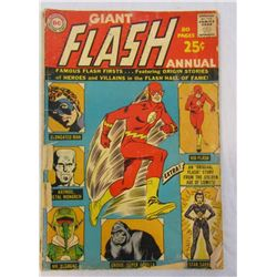 GIANT FLASH ANNUAL #1 1963 LOW GRADE