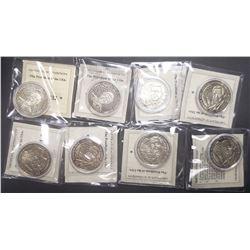 8-Republic of Liberia George W Bush Coins