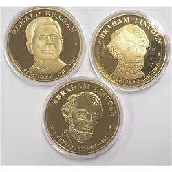 American Presidents Ronald Reagan 24k Gold Pltd Co