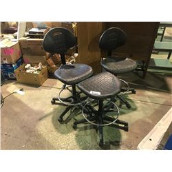 3 OFFICE ROLLING CHAIRS