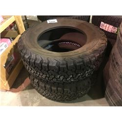 2 BF GOODRICH ALL TERRAIN TIRES 255/65R17 *$5/TIRE ECO-FEE