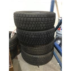 4 ASSORTED BRAND TIRES ALL 275/65R18 *$5/TIRE ECO-FEE