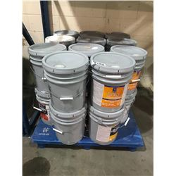 PALLET OF ASSORTED BUCKETS OF PAINT