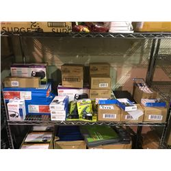 ASSORTED STAPLES PRODUCTS, NOTEBOOKS, GLUE STICKS, & MORE