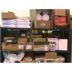 ASSORTED STAPLES PRODUCTS, GLUE STICKS, RAPID CHARGERS, NOTEBOOKS, & MORE