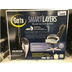 SERTA SMART LAYERS ARLINGTON EXECUTIVE AIR CHAIR MODEL 45315