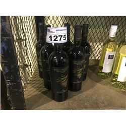 6 BOTTLES OF 2015 SALICE SALENTINO LE VIGNE DI SAMMARCO WINE