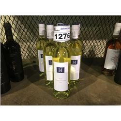 6 BOTTLES OF 2018 HOPLER GRUNER VELTLINER WINE