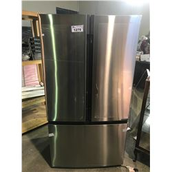 NEW HISENSE FRIDGE WITH VISIBLE DAMAGE ON THE RIGHT SIDE MODEL RF208N6