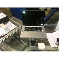 MACBOOK PRO NO HARD DRIVE WITH CHARGER
