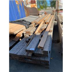 LARGE COLLECTION OF LUMBER