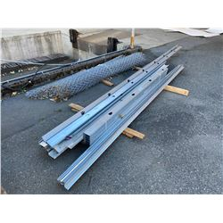 GALVANIZED WALL STUDDS & CHAINLINK FENCING