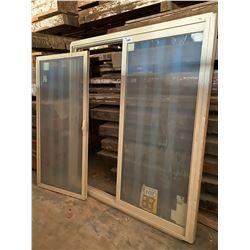 5300 SERIES HIGH PERFORMANCE VINYL PATIO DOORS W:1830 X H:2050 X VW:915 ONE SLIDING DOOR NEEDS TO