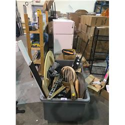 BIN OF MISC. ITEMS & PARTS