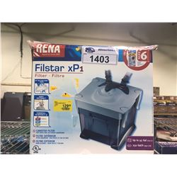 RENA FILSTAR XP1 FILTER UP TO 45GAL