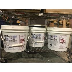 5 BUCKETS OF SECULOK SAFETY ROOFING EQUIPMENT