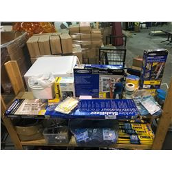 ASSORTED LADDER PRODUCTS, MESH TAPE, POWER PAINTER SERIES 200, & MORE