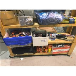 ASSORTED WIPER BLADES, TOOLS, WIRE SET, & MORE