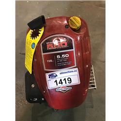 BRIGGS & STRATTON 550 ENGINE SERIES 158CC 5.50 FT-LBS GROSS STORQUE PER SAE J1940 MOTOR