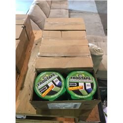 4 BOXES (40 ROLLS TOTAL) OF FROG TAPE GREEN