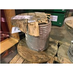 "SPOOL OF APPROX. 1"" HEAVY DUTY COPPER INDUSTRIAL CABLE APPROX. 430LBS"