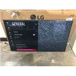 "LG 55"" TV MODEL 55W770H WITH REMOTE & CORD"