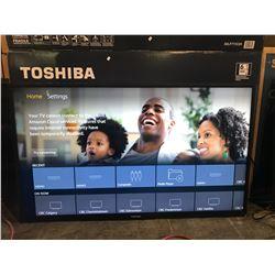 "TOSHIBA FIRETV EDITION 50"" TV MODEL 50LF711C20 WITH CORD & REMOTE"