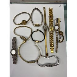 LARGE LOT OF WOMENS WATCHES