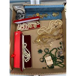 LARGE LOT OF COSTUME JEWELRY