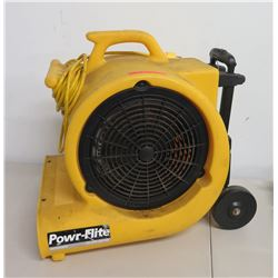 Powr-Flite 3 Speed Dryer Air Mover Powr-Dryer PD500DX