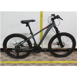 "Huffy 24B Scout Men's Gray 24"" Mountain Bike"