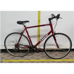 Trek One Series 1.1 Red Men's Alpha Aluminum 100 Road Bike