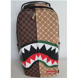 "Sprayground 'Split The Check"" Shark Teeth Backpack"