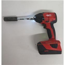 "Hilti SIW 18A 1/2"" Cordless Impact Wrench w/ Li-ion Battery"