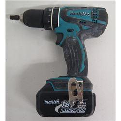 "Makita XPH01 1/2"" Cordless Hammer Drill Driver w/ 18V Li-ion Battery"