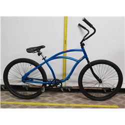 Hyper Cruiser Trans Blue JBH Quality Comfort Beach Cruiser Bike