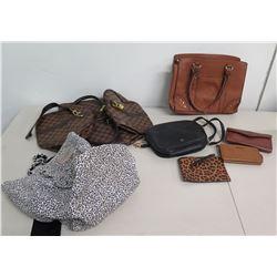 Misc Monogram Bags & Wallets: Victoria's Secret, Floveme, Nanette Lepore, etc