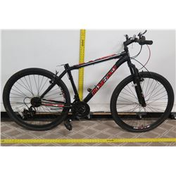 "Mongoose Excursion 21 Speed 27.5"" Black Men's Mountain Bike"