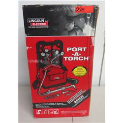 Lincoln Electric Port-A-Torch KH837 Welding Kit in Box