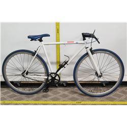 Fiji Water White Men's Racing Road Bike