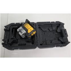 DeWalt DW089 Self-Leveling 3 Beam Line Laser in Hard Case