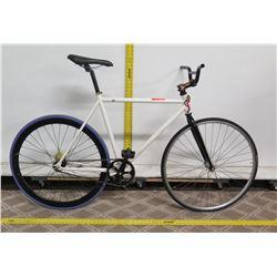 Men's White Racing Road Bike