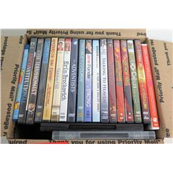 Multiple DVD's: Erin Brockovich, Adventists, Notting Hill, Hip-Hop Abs, etc